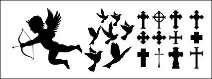 Eros, palomas, cruza