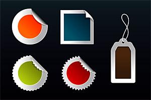 insignes de style web2.0