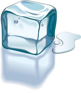 Vektor-Textur-Eis