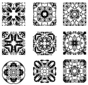 Vector de patrón clásico logotipo-2