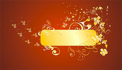 Oro precioso patrones vectores-2