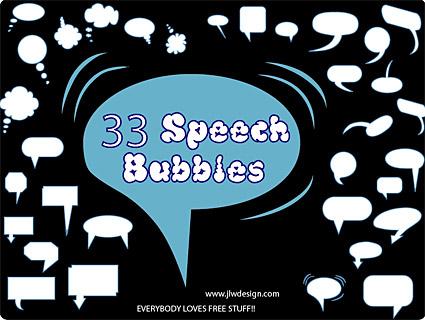 Размещает элемент вектора диалога пузырь материал