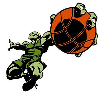Baloncesto figuras vectoriales