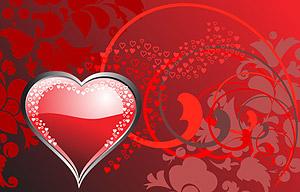 หัวใจที่มีรูปแบบเวกเตอร์วัสดุ-2