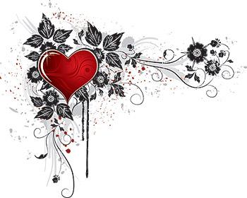 Сердце образный векторного материала-3