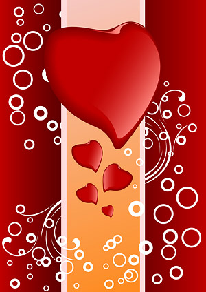 Heart-shaped vector material-5.