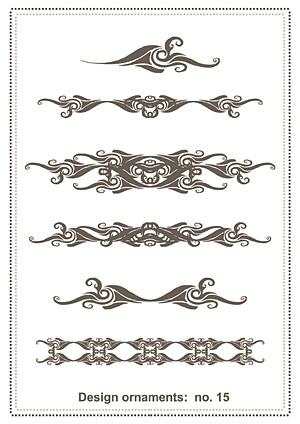 古典的なパターン ベクトル材料