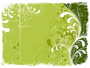 ベクトル材料要素の傾向の 2 をパターンします。