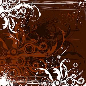 トレンド パターンのベクター素材要素