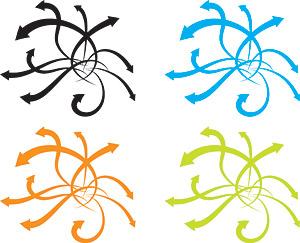 動的要素ベクトル矢印材料の動向