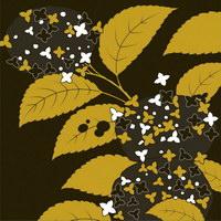 Plantas de vector serie pictórica tradicional 2-flor