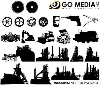 Allez Media produit vectoriel matériau (set8) - constructeur