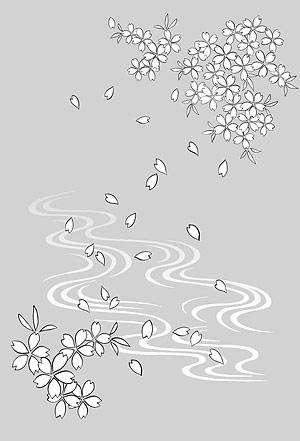花-19 の線の描画
