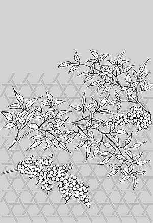 Dibujo de líneas de vector de flores-36