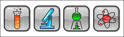 Вектор значок категории химических материалов