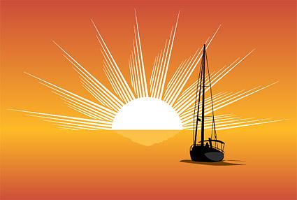 Meer, Sonne, Segeln