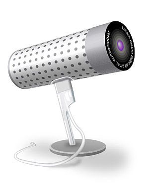 Matériau de vecteur de caméra (icam) PC