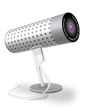 Material de vectores de cámara (icam) de PC