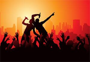 ร้องเพลงและความกระตือรือร้นของผู้ชม