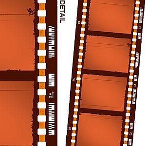 Vector de elemento material de película