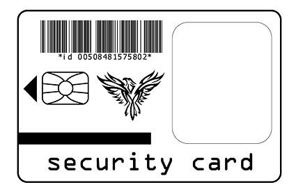 Carte de sécurité
