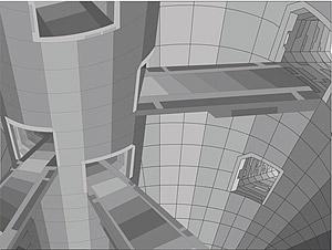 3D ベクトル スタイル建築材料