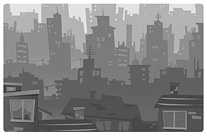 เวกเตอร์เมืองวัสดุในรูปภาพ