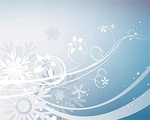 雪片のパターン