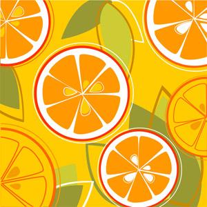 ベクトルのオレンジの組み合わせ