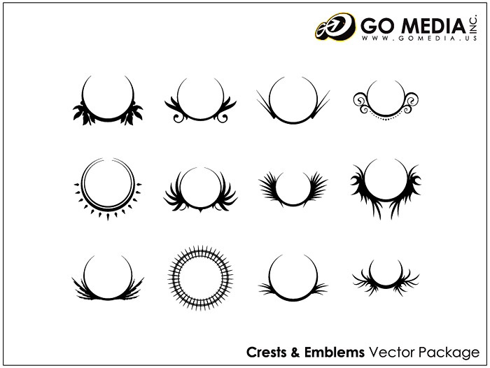 Go Media produced vector material - the tide patterns