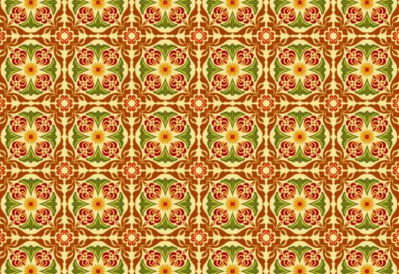 Mosaico clásico patrón vector-6