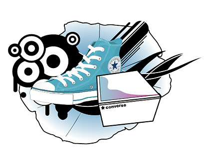 Thème de la conception Converse