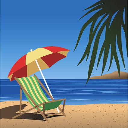 Playa de verano