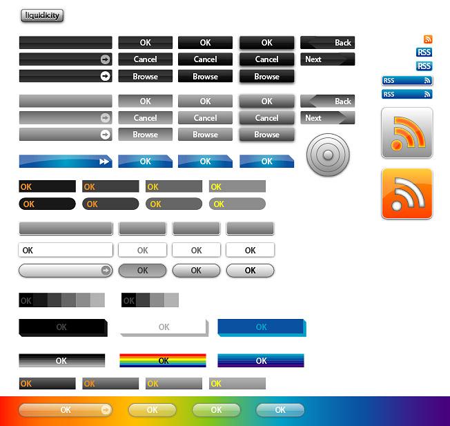 เว็บออกแบบปุ่มเวกเตอร์กรณีวัสดุ