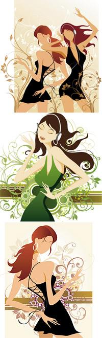 ファッションと美容のパターン