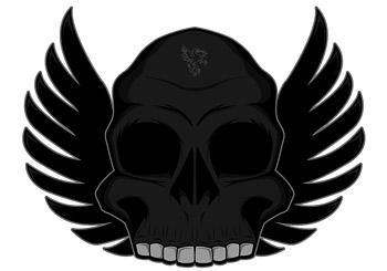 Тенденция черепа с крыльями