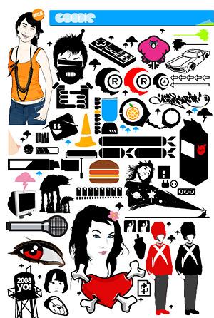 2008 trend of design elements