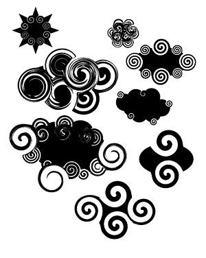 Moire abstracta de un material de vectores