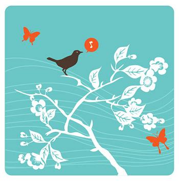 Ramas de los birdies cantar