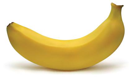 AI реалистичный рендеринг банана