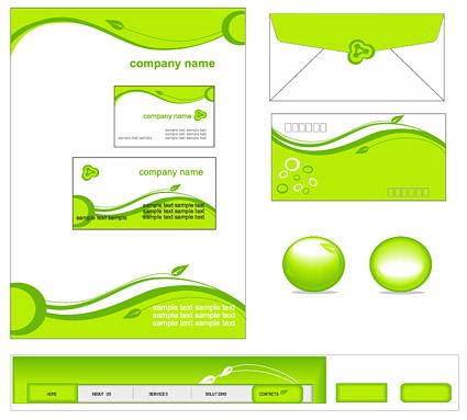 Plantilla simple empresas verdes