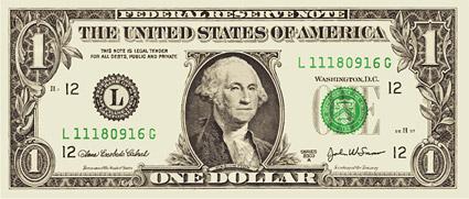 Vektor-Material-Dollar-Banknoten