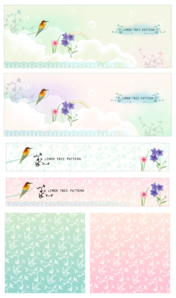 सपनों birdies और पैटर्न्स