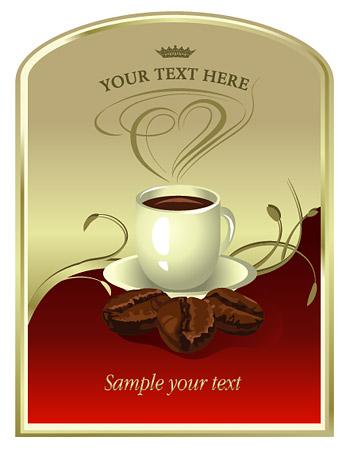 コーヒーのポスター
