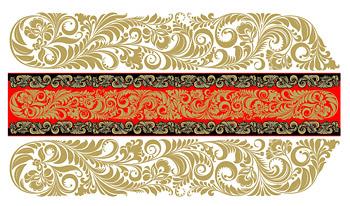 Azulejos continental clásico patrón