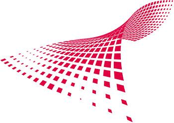 Distorting วัสดุเวกเตอร์เส้นตาราง