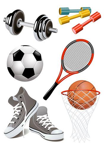 스포츠 용품의 모든 종류의