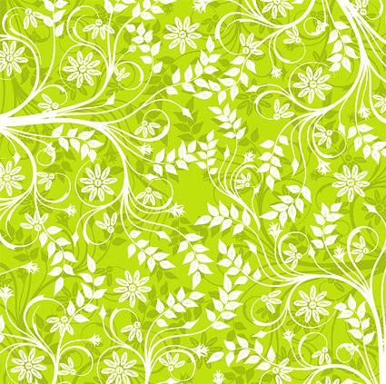 Patrones de fondo verde