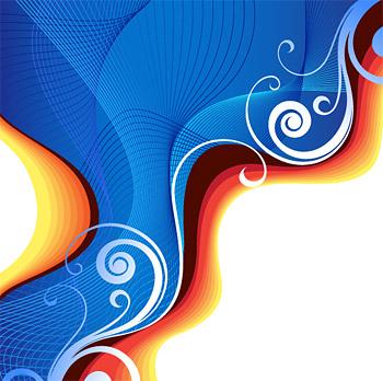 Sinfonía adobe cs3 estilo vector material