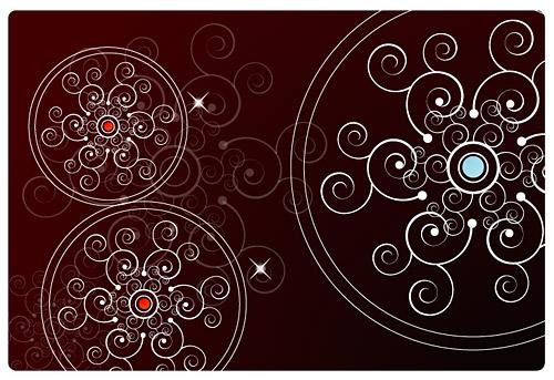 Kreisförmige Muster